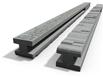 Betónový stĺpik priebežný 280x13x14 cm vzorovaný obojpohľadný