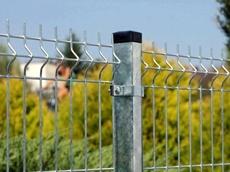 Plotový stĺpik k plotovému panelu Zinok