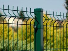 Plotový stĺpik k plotovému panelu Zelená