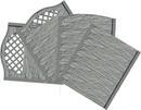Betónové ploty farba prírodná šedá