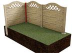 Betónové ploty BEVES